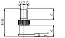 Sarok tapintó M2.5