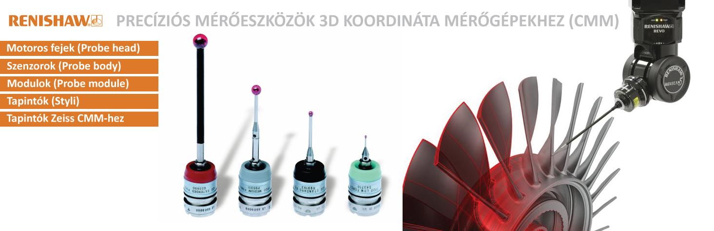 Renishaw mérőeszközök