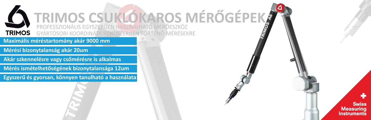 Trimos csuklókaros mérőgépek (mérőkar)