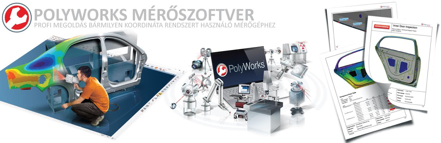 Polyworks mérőszoftver